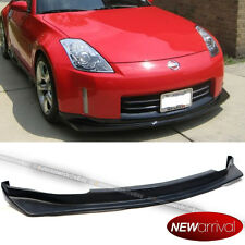 For 06-09 350z Z33 Unpainted Type NS Style PU Front Bumper Chin Lip Body Kit