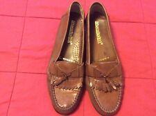 Alexander LTD Loafers Shoes Size 8 Medium Men's brown Leather Tassel