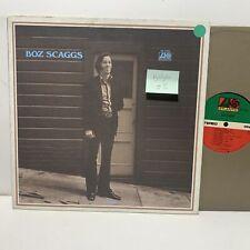 Bozz Scaggs S/T- Atlantic SD 19166 VG+/VG(+) jazz LP