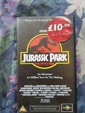 Jurassic Park VHS Video1992