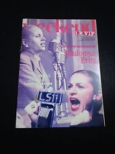 * Madonna Weekend Magazie-Le Vie-evita-Jan.1997cover & article