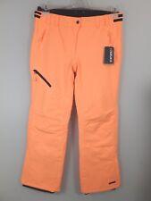 Icepeak #23847 Josie Skihose Ski Alpin Snowboard Winter Hose Damen Gr. 42 Orange