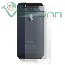 Pellicola protettiva posteriore anti riflesso impronta iPhone SE 5 5S antiglare