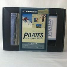 NordicTrack Pilates for Performance Ultra Kit Video CD 3 Bands Carry Bag Fitness