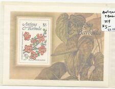 Antigua & Barbuda Souvenir Sheet Sc.#759 MNH  (X2875)