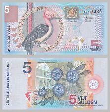 Surinam / Suriname 5 Gulden 2000 p146 unz.