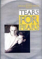 TEARS FOR FEARS broken head over heels broken 12INCH 45 RPM PREACHER MIX HOLLAND