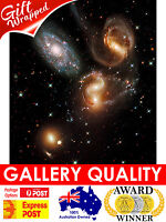 NEW Stephan's Quintet of Galaxies, NASA Space, Hubble Giclee Art Print or Canvas