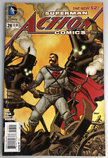 Superman Action Comics #28 Steampunk Variant By Johnson The New 52!