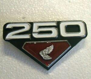 250 WING Side Cover Badge for HONDA CB250 CL250 kK3 1972 1973 Metal Emblem HS15