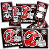 GEORGIA BULLDOGS UNIVERSITY FOOTBALL TEAM GO DAWGS LIGHTSWITCH OUTLET WALL PLATE