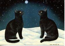POSTCARD CARTE POSTALE ILLUSTRATEUR ANNA HOLLERER N° LA 130 / CAT / CHAT