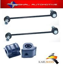 FITS TOYOTA AURIS 2006> FRONT ANTI ROLL BAR D BUSHS & STABILISER DROP LINK BARS