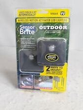 Sensor Brite Outdoor- Wireless activated  LED Lighting- As Seen On TV | 2 Pack