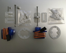 4 x 9g 360 Flaps Servo Upgrade 55+mm Linear Actuator Conversion Accs - FSEN ■
