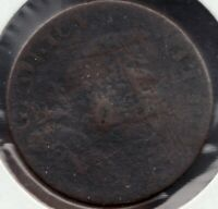 circa 1830 - Canada - Blacksmiths Token - ½ Penny - Superfleas - BL-37