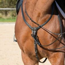 Kieffer Front Ultrasoft black adjustable martingale fork and chrome fittings