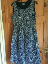 Per Una Women's Regular Size Linen Dresses Round Neck