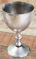 Silver Plated Copper Goblet by W&S Blackinton Italy 10 fl.oz. Wine Glass Chalice
