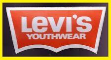 ADESIVO D'EPOCA - LEVI'S YOUTHWEAR (COLORE ARANCIO)