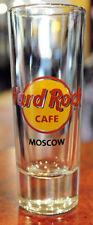Hard Rock Cafe Moscow Russia SHOT GLASS STOPKA for Russian vodka whiskey type 1