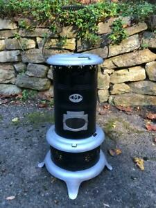 Antique Working 452 MILLER Oil Kerosene Parlor Cabin Heater Stove PERFECTION !