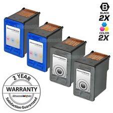 4 Black & Color Reman Ink Cartridge for HP 56 57 Ink PSC 2110xi 2200 2210 2210v