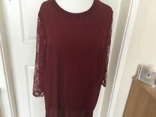 Dorothy Perkins tunic top size 28