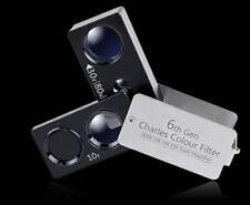 6th Charles filter A plurality of combined type magnifying glasses 10X 30X 80X