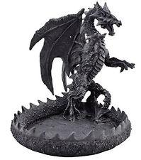 Standing Dragon Mythological Medieval Gothic Ashtray / Trinket Holder  816-527