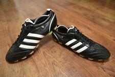 Adidas AdiPure I FG Football Boots Size Uk 13 100% leather Black mania VGC