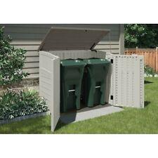 Suncast 34 Cu. Ft. Resin Horizontal Storage Shed w/Reinforced Floor - (Open Box)