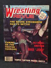 Wrestling Revue Magazine February 1978 WWE WWF WCW NWA AWA Pro Illustrated