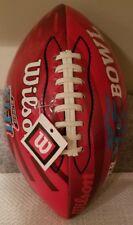 Wilson SUPER BOWL XLII (42) Jr. Football ~ 2-3-08 ~ Arizona ~ Patriots ~ Giants