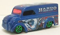 LOOSE 2003 Hot Wheels Crazed Clowns Series #1 Dairy Delivery Blue w/Green5SP