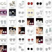 New Women 925 STERLING SILVER Earrings Hook Earrings fashion jewelry gift