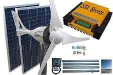 Set Windgenerator i-500 PLUS 24V, + SOLAR 200W, Laderegler + Tower, Ista Breeze®