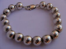 Magnifique bracelet marseillais argent boule type collier marseillais en argent