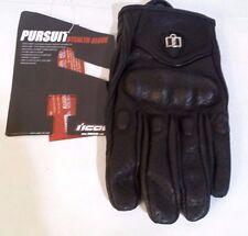 Icon Pursuit Stealth Gloves (XL) Single LEFT Hand Black