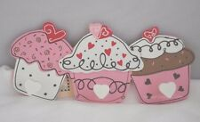 Cupcake Cappotto Robe Ganci ideale camera da letto o in Cucina Tea Towel Holder Rosa SG1328