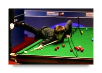 Judd Trump Signed 6x4 Photo Snooker Crucible Genuine Autograph Memorabilia + COA