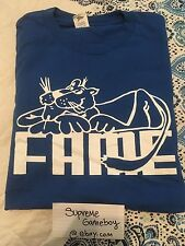 Hall Of Fame Ltd. PRE-OWNED XL Panther Tee Shirt T-shirt Supreme Cat Tiger Lion
