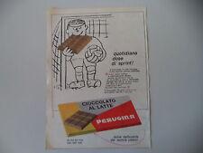 advertising Pubblicità 1964 PERUGINA CIOCCOLATO