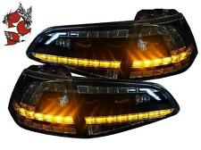 LED RÜCKLEUCHTEN VW GOLF 7 VII 13+ SCHWARZ ORIGINAL-DESIGN GTI-LOOK LINKS RECHTS