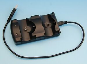 Station Charging Double USB For Navigation Controller sony PLAYSTATION 3