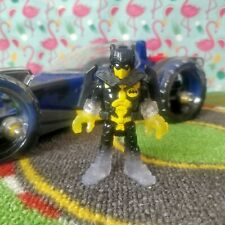 Imaginext Transforming Flying Batmobile and Figure with Backpack