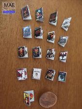 Juegos miniatura consola.Serie VII; Dragon Age, Diablo, Resident evil...