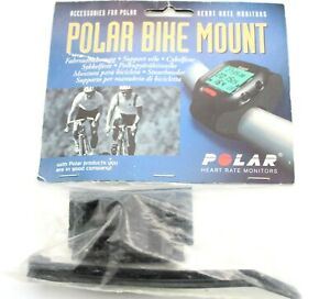 Vintage Polar Bike Mount For Polar Heart Rate Monitors (Bar Mount Only)