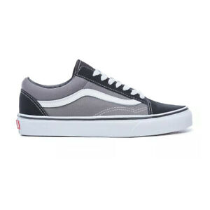 "Vans ""Old Skool"" Sneakers (Black/Pewter) Men's Skateboarding Shoes"