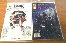 The Dark Continum Comics 2 June 1993 and 1 convention book SIGNED JOSEPH NAFTALI